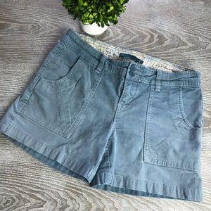 Peana Corduroy Shorts Size 6